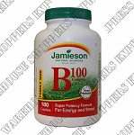 Jamieson Vitamin B-100 Timed Release