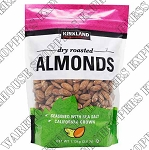 Kirkland Signature Dry Roasted Almonds