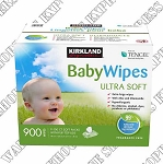 Kirkland Signature Tencel Baby Wipes Unscented