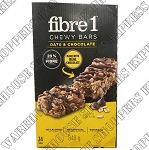 Fibre 1 Chewy Oats and Chocolate Granola Bars