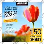 Kirkland Signature Professional Glossy Inkjet Photo Paper