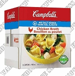 Campbell's No Sodium Chicken Broth