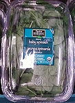 Taylor Farms Organic Baby Spinach Greens