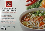 Asian Meals Asst. Noodle Bowls