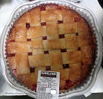 Kirkland Signature Homestyle Strawberry Rhubarb Pie