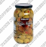 Kirkland Signature Queen Stuffed Olives