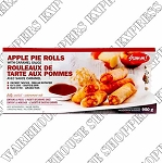 Sum-m Apple Pie Rolls with Caramel Sauce