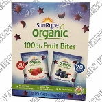 Sunrype Organic Fruit Bites