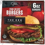The Keg Prime Rib Burger Patty