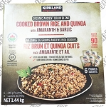Kirkland Signature Organic Brown Rice & Quinoa Pouches