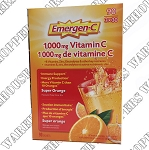 Emergen-C Super Orange Tablets