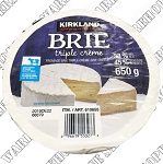 Kirkland Signature Triple Cream Brie