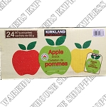 Kirkland Signature Organic Apple Pouches