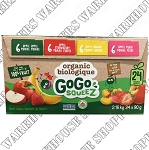 Materne GoGo Squeez Organic Variety Fruit Sauce Cups