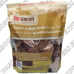 Top Chews Chicken Apple Sausage Patty Dog Treats