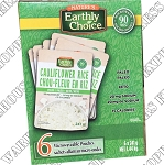 Earthly Choice Riced Cauiliflower Pouches
