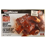 Cardinal Roadhouse Beef Ribs in BBQ Sauce