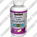 Kirkland Signature Formula Forte Senior Womens Multivitamins