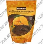 Kirkland Signature Dark Chocolate Mangoes