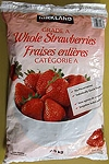 Kirkland Signature Whole Frozen Strawberries