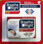 Breathe Right Nasal Strips Extra Tan