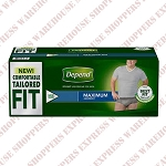 Depend Protective Underwear -Men-S/M