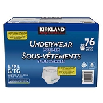 Kirkland Signature Protective Underwear - Men - L/XL