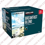 Kirkland Signature Breakfast Blend Fair Trade K-Cups