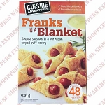 Cuisine Adventures Franks in a Blanket