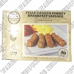 Smokey River Fully Cooked Turkey Breakfast Sausage