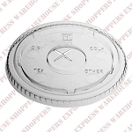 98mm Compostable Flat Lids