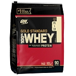 Vanilla Optimum Nutrition Gold Standard 100%  Whey Protein