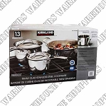 Kirkland Signature Stainless Steel Cookware Set