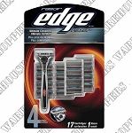 Edge Razor &. 17 cartridges