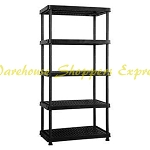 Accent Homes Adjustable Resin Shelving
