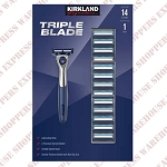 Kirkland Signature Razor & 14 Cartridges