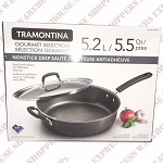 Tramontina  Deep Sauté Pan with Lid