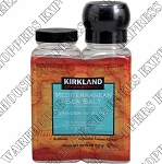 Kirkland Signatur Mediterranean Sea Salts in Grinder With Refill