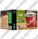 Tim Horton Decaf K Cups.