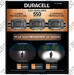 Duracell Broadview Headlamps