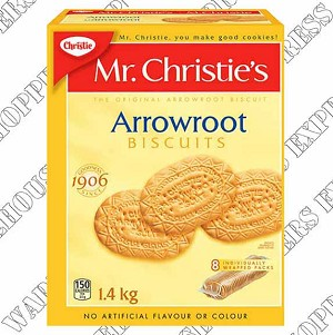 Christie Arrowroot Biscuits