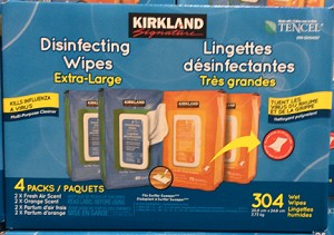 Kirkland Signature Disinfectant Wipes