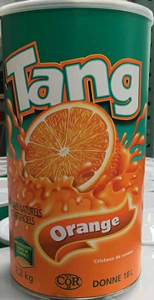 Tang Orange Crystals