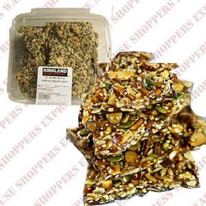 Kirkland Signature Nuts and Seed Brittle