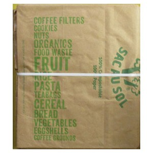 "Bag to Earth Food Waste Bags - 12""x22"""