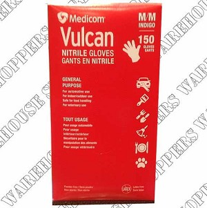 Vulcan Nitrile Gloves - Medium