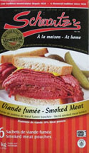 Schwart's Smoked Meat Pouches