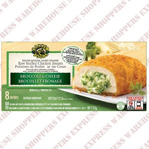 Barber Foods Broccoli and Cheese Stuffed Chicken Breasts