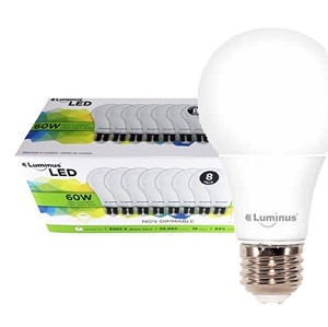 Luminous LED A19 Non-Dimmable Bulbs