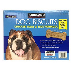 Kirkland Signature Dog Biscuits - Chicken Meal & Rice